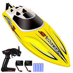 YEZI Yellow Remote Control Boat for Pools