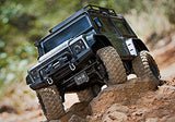 Traxxas Silver Land Rover 1/10 RC Truck TRX-4 with Radio