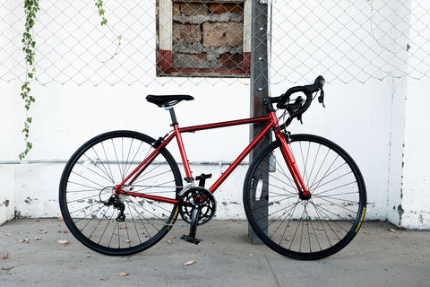 Chromoly bicycle for starting
