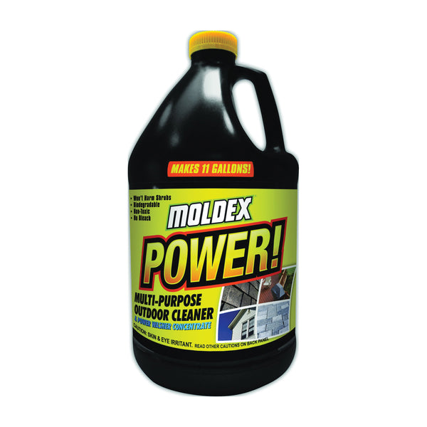 MOLDEX 4040 Power Outdoor Cleaner, 1 gal Can, Liquid, Mild