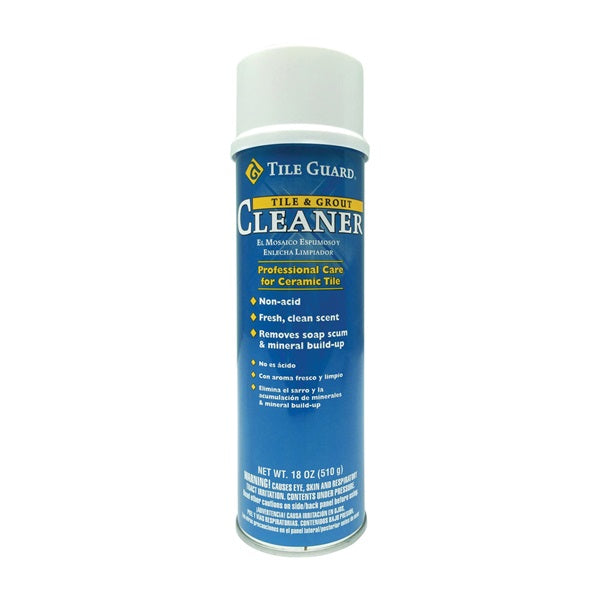 Homax 9532-06 Tile and Grout Cleaner, 18 oz Aerosol Can, Foam, Fresh, White