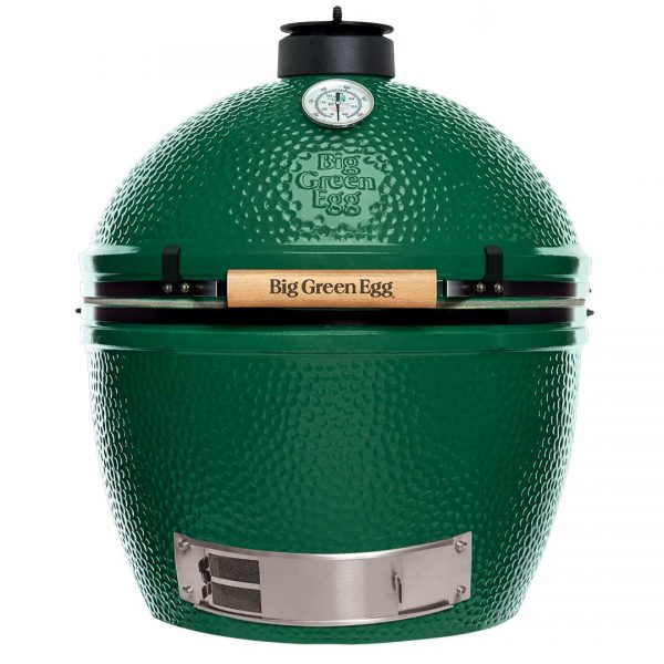 Big Green Egg XL Charcoal Grill, 452 sq-in Primary Cooking Surface, Green, Stainless Steel Body - 117649