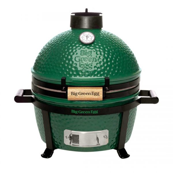 Big Green Egg MiniMax Charcoal Grill, 133 sq-in Primary Cooking Surface, Green, Stainless Steel Body - 119650