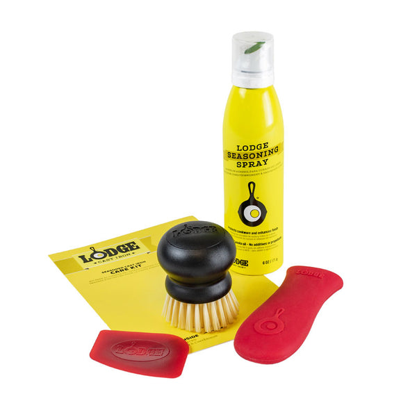 Lodge A-CAREC2 Cast Iron Care Kit, Yellow