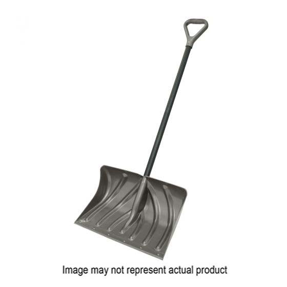 Suncast PLT-SC270040D Combo Snow Shovel/Pusher, 20 in W Blade, 13 in L Blade, Graphite Blade, Steel Handle