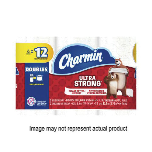 CHARMIN Ultra Soft 13258 Bathroom Tissue, 3.92 in L x 4 in W Sheet, 2-Ply