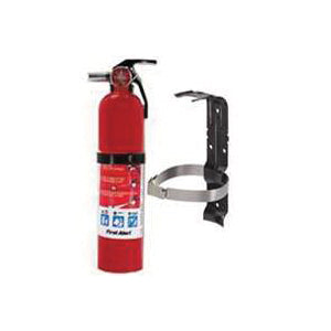FIRST ALERT HOME1 Fire Extinguisher, 2.5 lb Capacity, Mono Ammonium Phosphate, 1-A:10-B:C Class