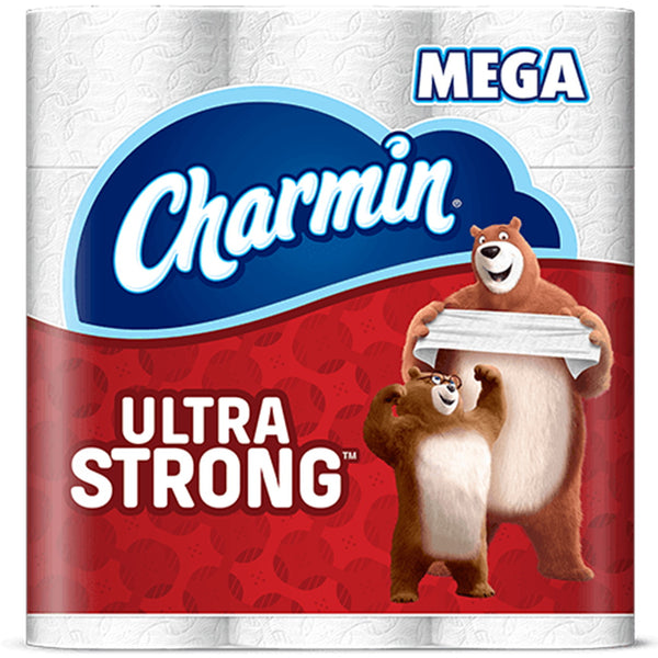 CHARMIN Ultra Strong 76546 Toilet Paper, 2-Ply, Paper