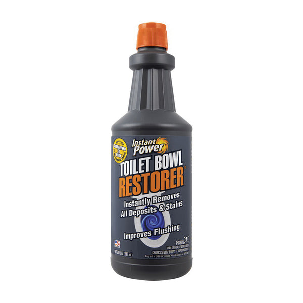 Instant Power 1803 Toilet Bowl Restorer, 30 oz, Liquid, Strong Acid, Blue