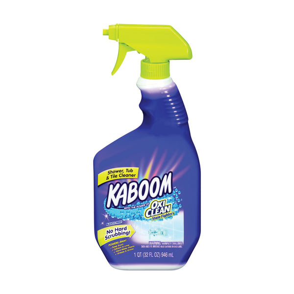 KABOOM 35015 Tub and Tile Cleaner, 32 oz Bottle, Liquid