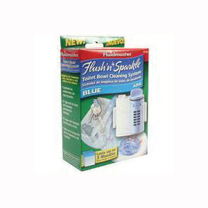 FLUIDMASTER 8100P8 Toilet Bowl Cleaning System, Blue
