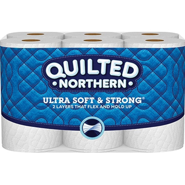 Quilted Northern 94429 Bathroom Tissue, 2-Ply, Paper