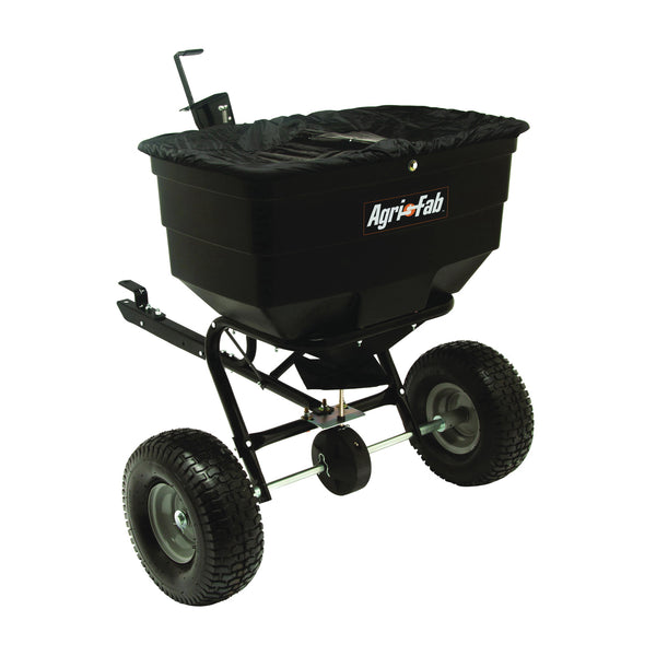 AGRI-FAB 45-0329 Broadcast Spreader, 40,000 sq-ft Coverage Area, 12 ft W Spread, 175 lb Hopper, Poly Hopper