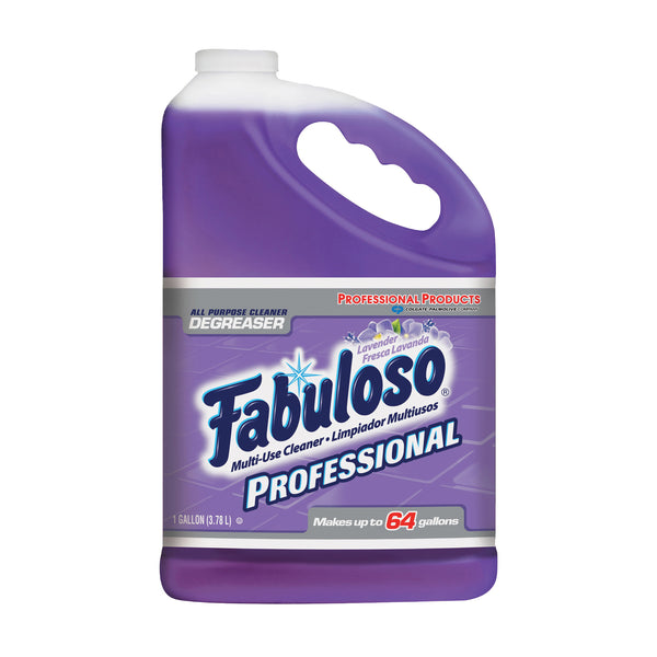 Fabuloso 04307 All-Purpose Cleaner, 1 gal Bottle, Liquid, Lavender, Purple