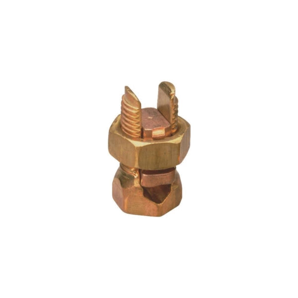 GB GSBC-4 Split Bolt Connector, 4 AWG Wire, Copper, Copper