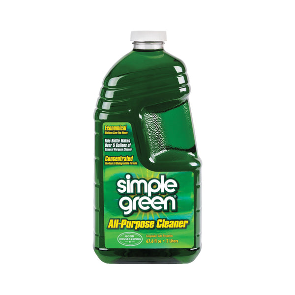 Simple Green 2710000613014 All-Purpose Cleaner, 67 oz Bottle, Liquid, Sassafras, Green