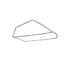 Miller 6294006 Wheelbarrow Tray, 6 cu-ft Capacity, Steel