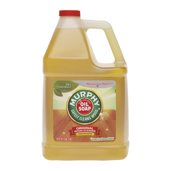 MURPHY OIL SOAP 1103 Oil Soap, 1 gal Bottle, Liquid, Citrus, Amber