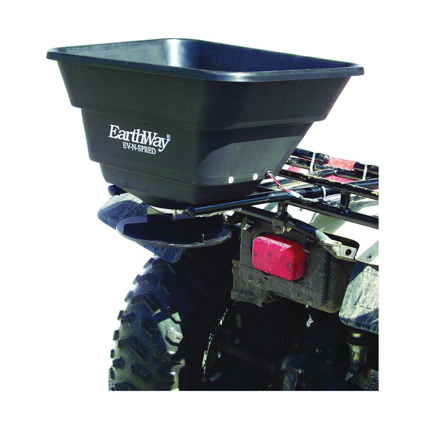 EarthWay M20 ATV Mount Broadcast Spreader, 80 lb Hopper, Poly Hopper