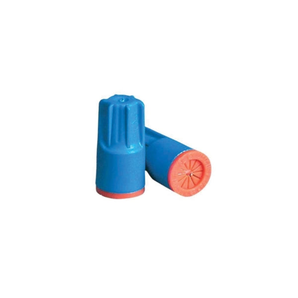KING INNOVATION Dryconn 62125 Wire Connector, 22 to 12 AWG Wire, Copper Contact, Aqua/Orange