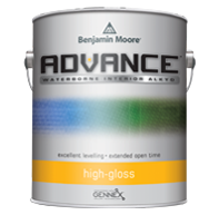 ADVANCE® Waterborne Interior Alkyd Paint - High Gloss Finish 794