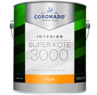 Super Kote® 3000 Interior Paint - Flat 301