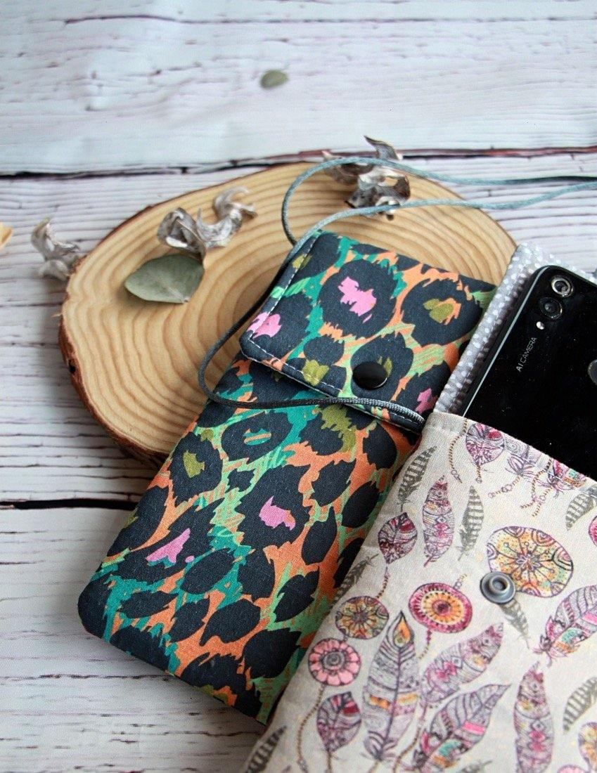 Funda para móvil lavable Animal print