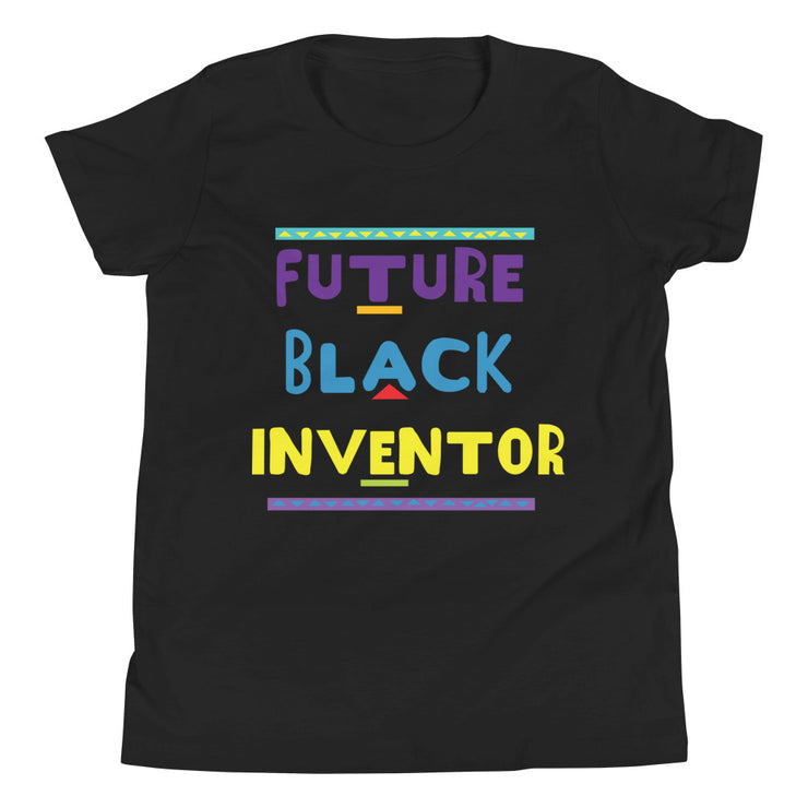 Future Black Inventor Youth Short Sleeve T-Shirt