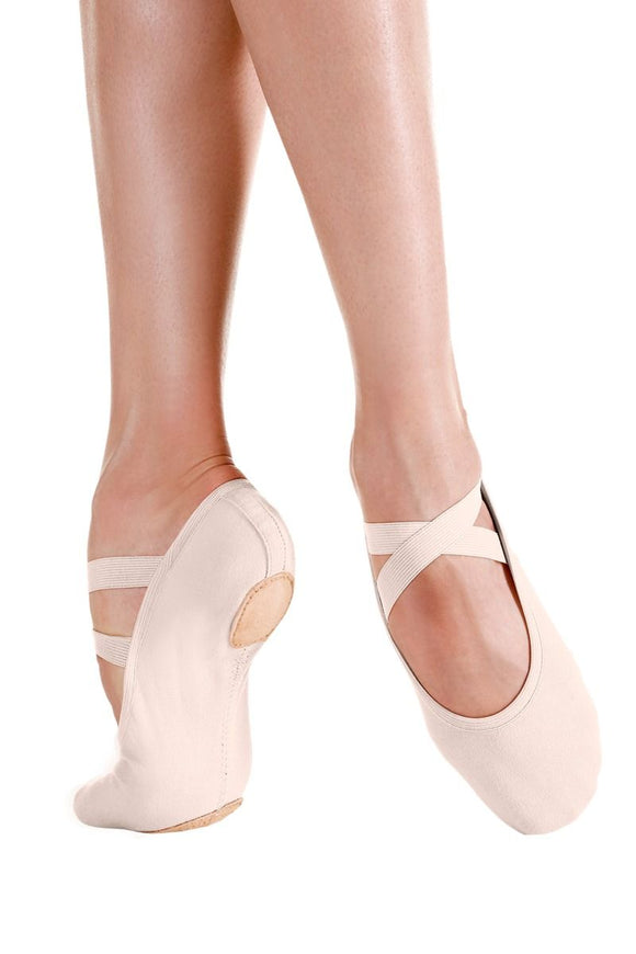 Canvas Split Sole Ballet Slipper