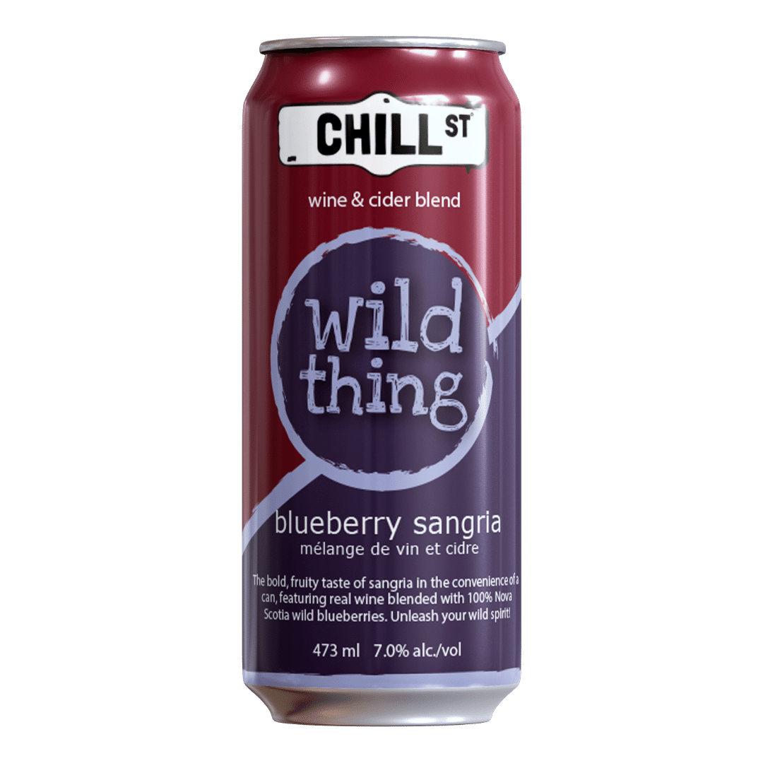 Wild Thing blueberry sangria wine-cider blend