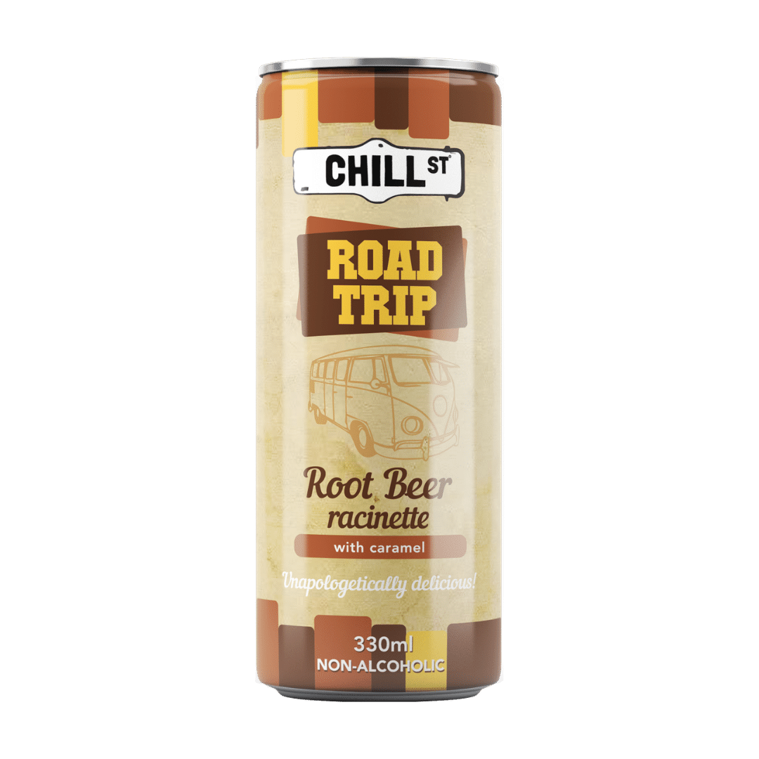 Road Trip root beer NON-ALCOHOLIC 330ml
