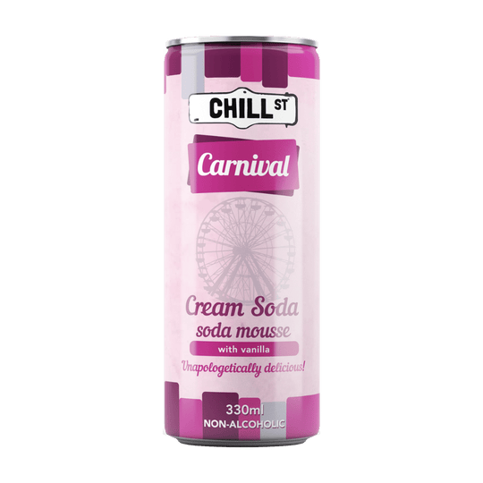 Carnival cream soda NON-ALCOHOLIC 330ml