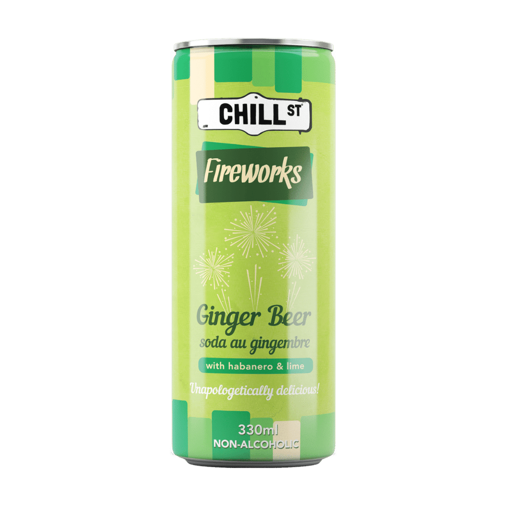 Fireworks ginger beer NON-ALCOHOLIC 330ml