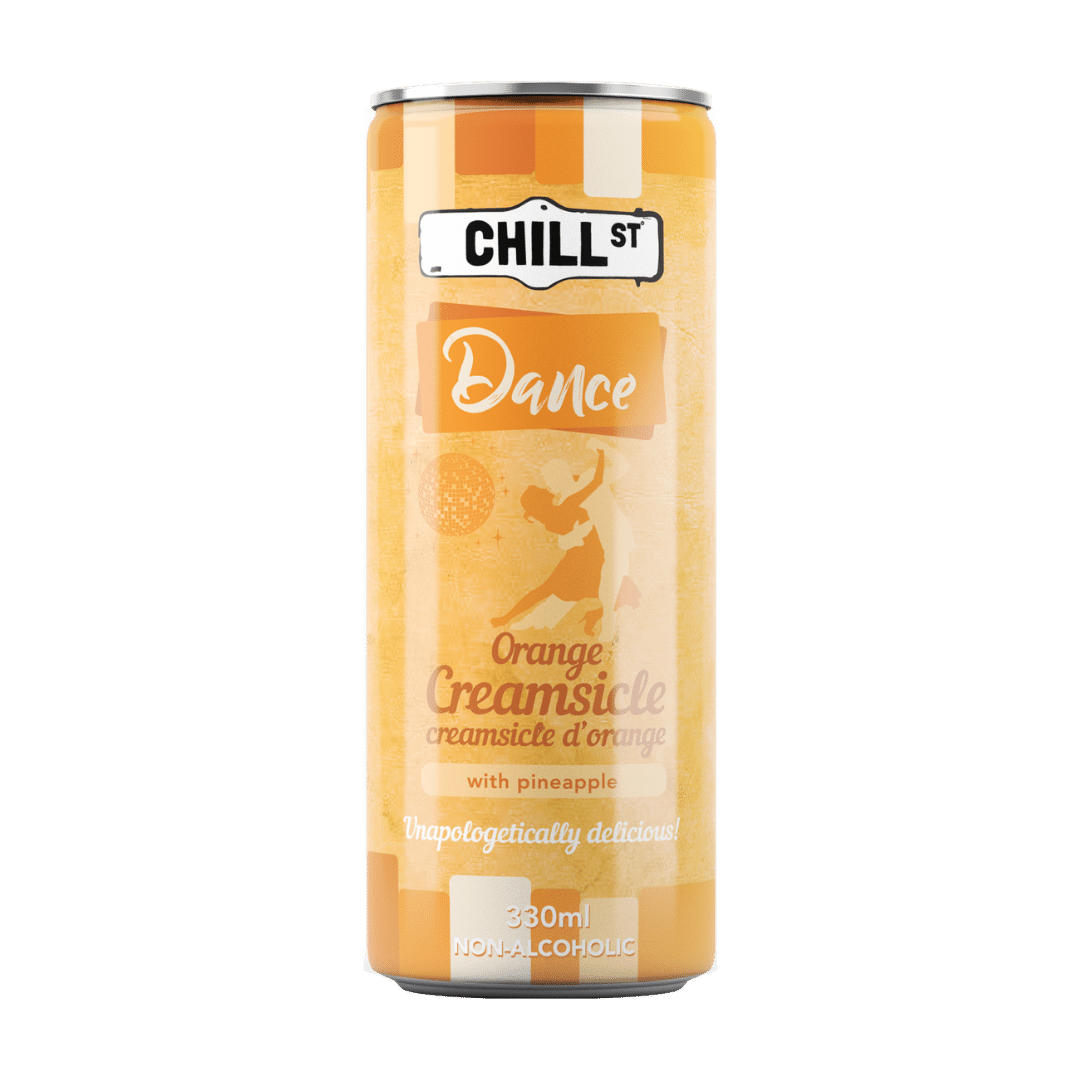 Dance orange creamsicle NON-ALCOHOLIC 330ml