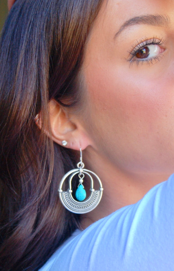 Turquoise Tribe Earrings