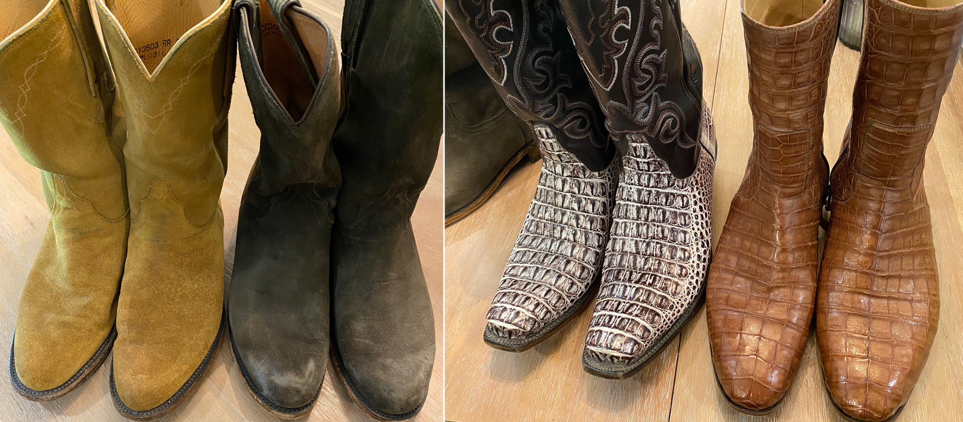 david nail lucchese boots collection