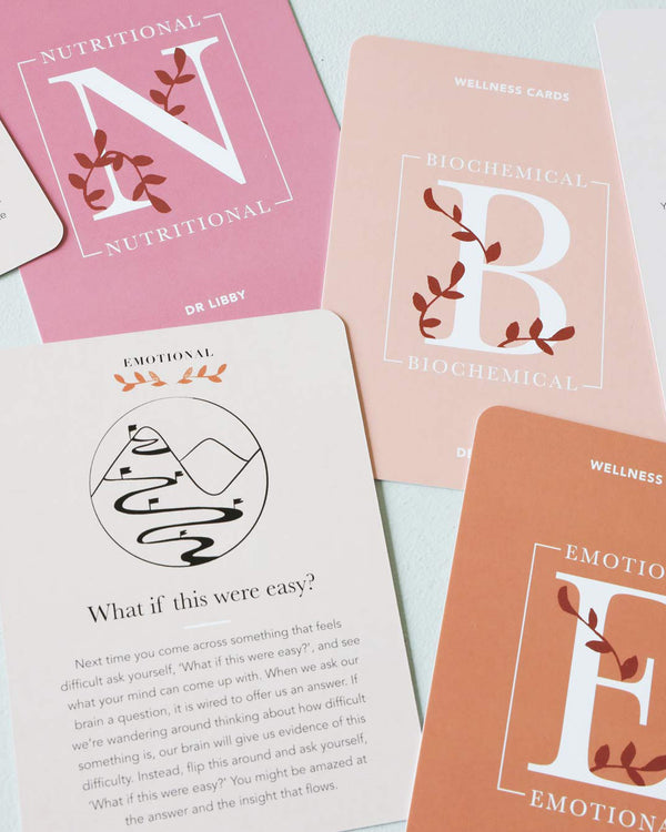 Dr Libby Wellness Cards