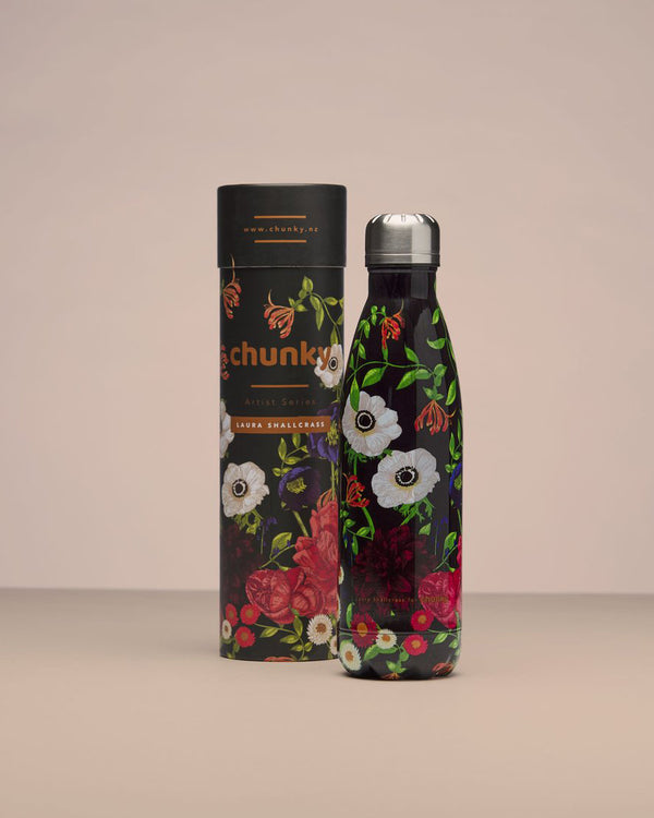 Chunky Insulated Drink Bottle - Bloom