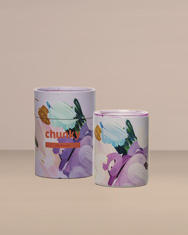 Chunky Coffee Cup - Breathe In Breathe Out