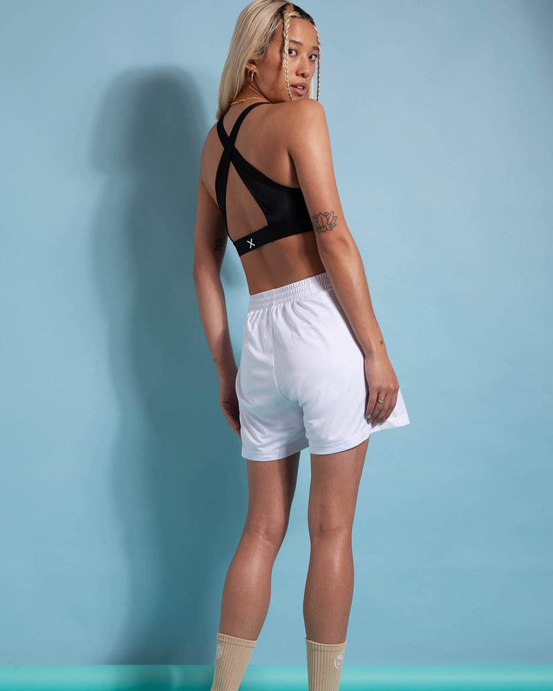 Rear View of Model Wearing Dunk Relaxed Shorts