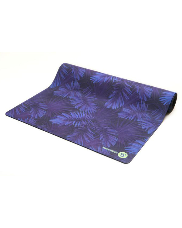 Yellow Willow Yoga Mat - Midnight Palm