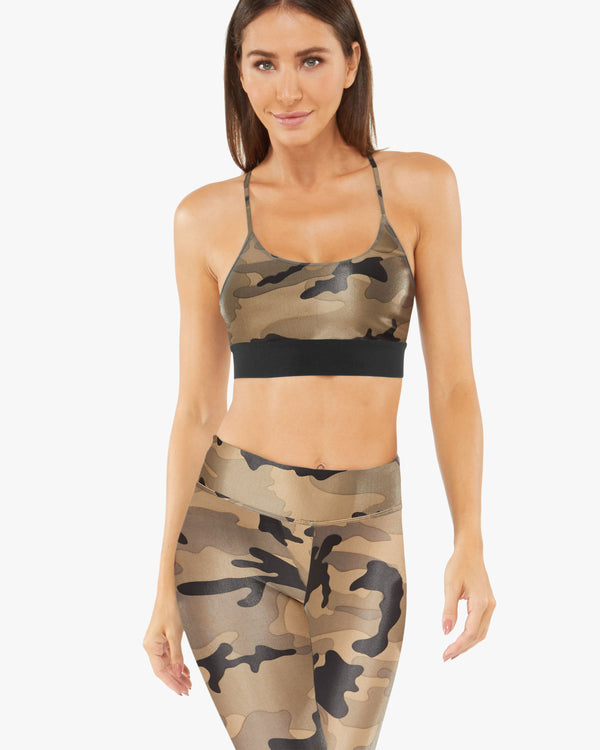 Koral Sweeper Sports Bra - Camo