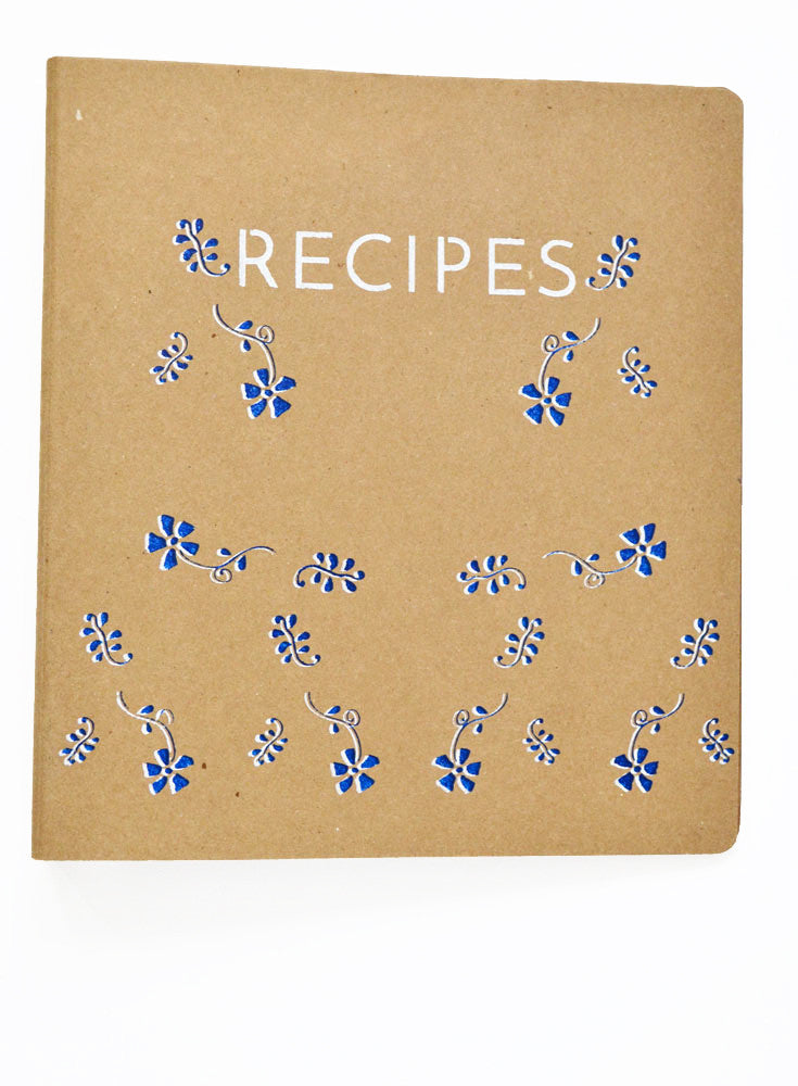 Recipe Binder Royal Tabs and Cards