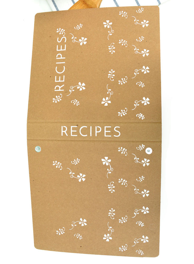 Recipe Binder Royal Design