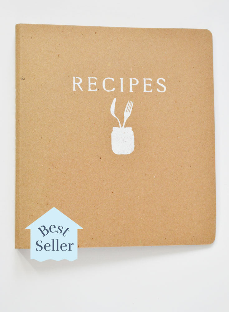Recipe Binder Spoon and Fork