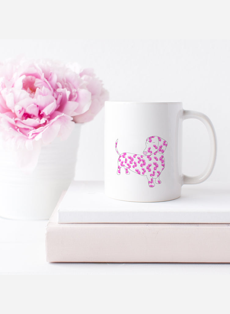 April Birth Flower Mug