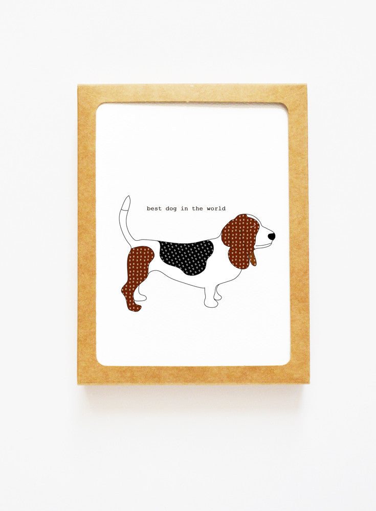 Basset Hound Boxed Notes
