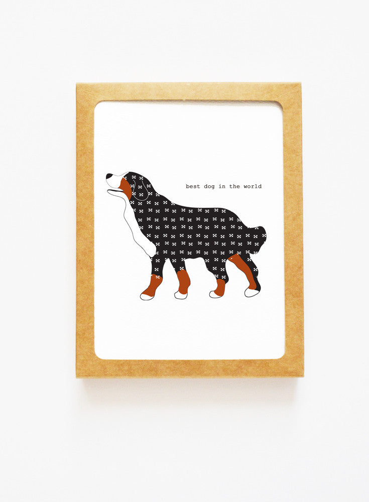 Bernese Mountain Dog Boxed Notes