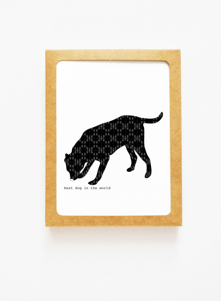 Black Lab Boxed Notes