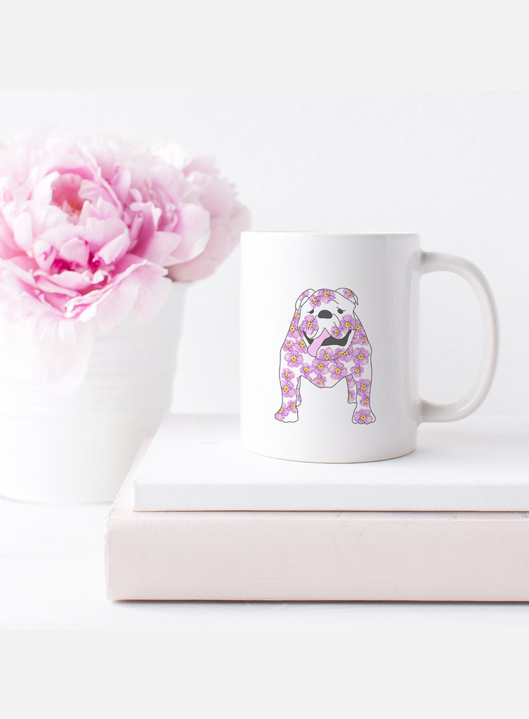 February Birth Flower Mug